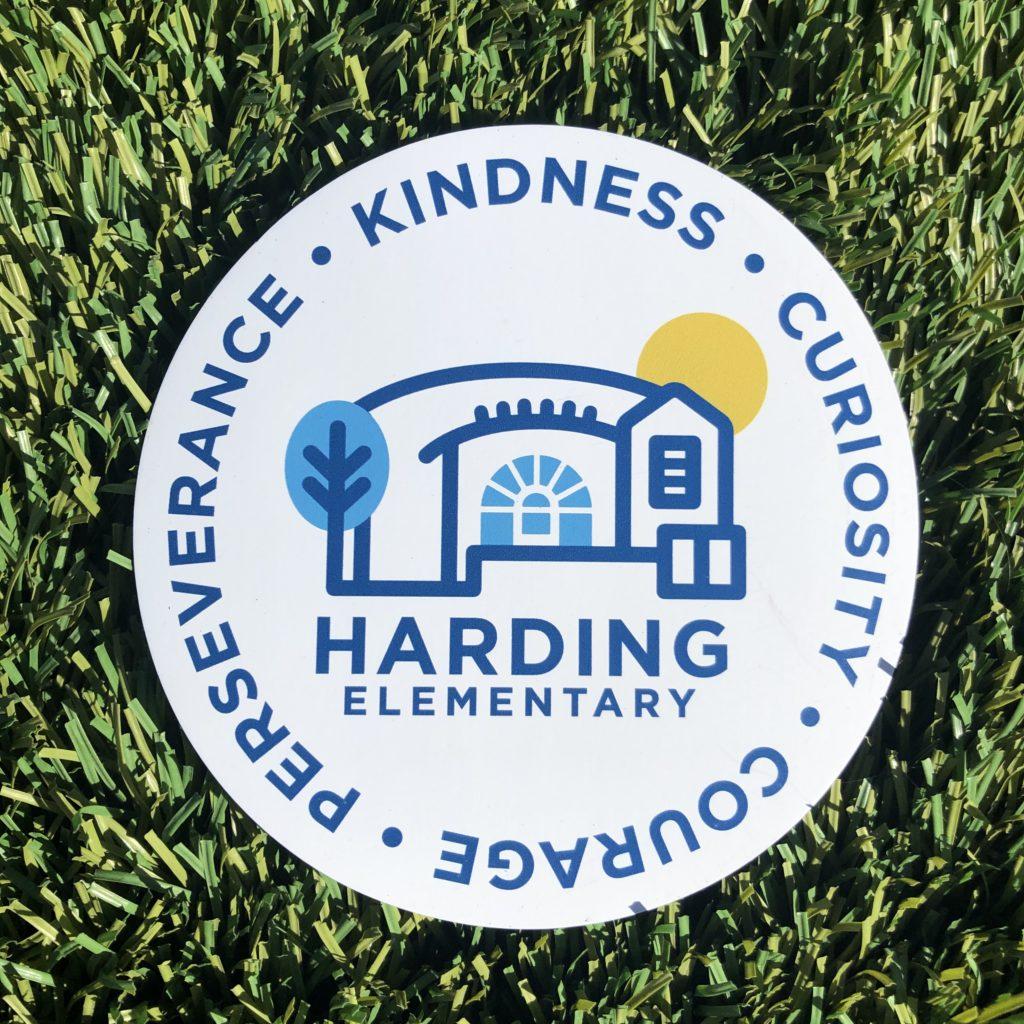 Harding magnet